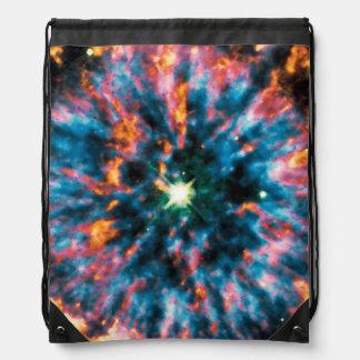 NGC 6751 Planetary Nebula Drawstring Backpack