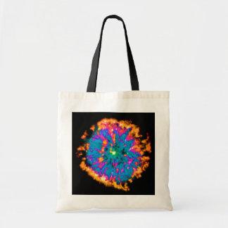 NGC 6751 Planetary Nebula Pop Art Tote Bags