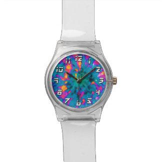 NGC 6751 Planetary Nebula Pop Art Wrist Watch