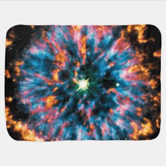NGC 6751 Planetary Nebula Stroller Blanket