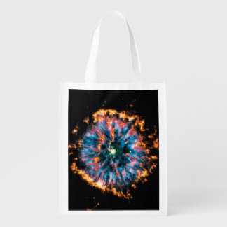 NGC 6751 Planetary Nebula Reusable Grocery Bag
