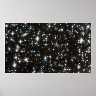 NGC 6791 - Campo completo de Hubble ACS Póster