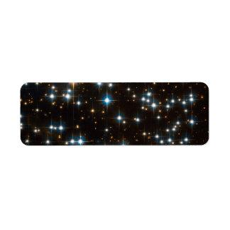 NGC 6791- Full Hubble ACS Field Return Address Label