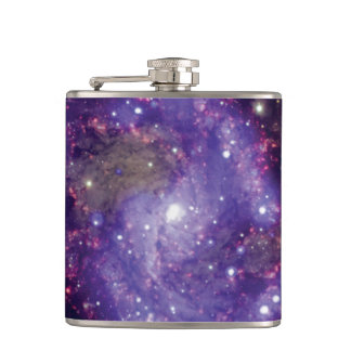 NGC 6946: The 'Fireworks Galaxy' Hip Flask