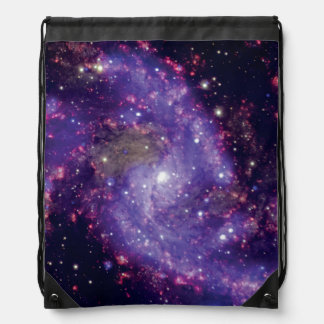 NGC 6946: The 'Fireworks Galaxy' Drawstring Backpack