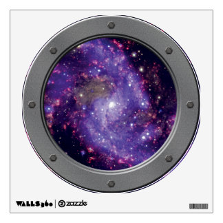 NGC 6946: The 'Fireworks Galaxy' Porthole Wall Stickers