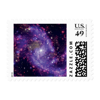 NGC 6946: The 'Fireworks Galaxy' Postage