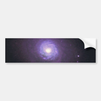 NGC 7252- Spiral Disk and Globular Star Clusters Bumper Stickers