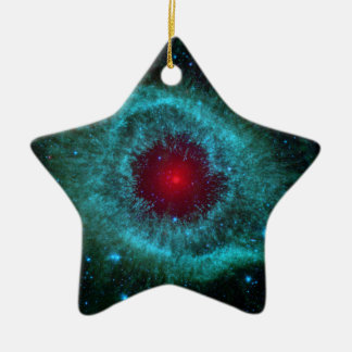 NGC 7293 The Helix Nebula NASA Ceramic Ornament