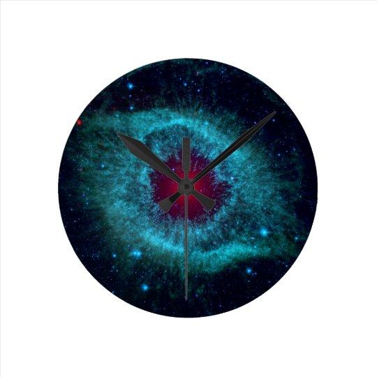 NGC 7293 The Helix Nebula NASA Round Clock