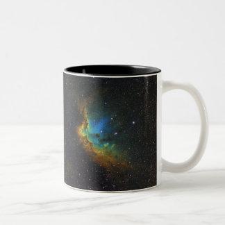 NGC 7380 Wizard Nebula NASA Two-Tone Coffee Mug