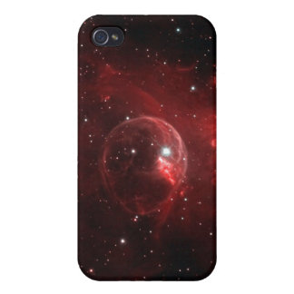 NGC 7635 Bubble Nebula Cassiopeia Cover For iPhone 4