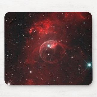 NGC 7635 Bubble Nebula Cassiopeia Mouse Pad