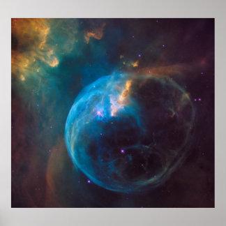 NGC 7635 - The Bubble Nebula Poster