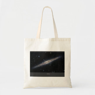 NGC-891 spiral galaxy Canvas Bag