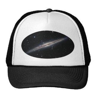 NGC-891 spiral galaxy Hats