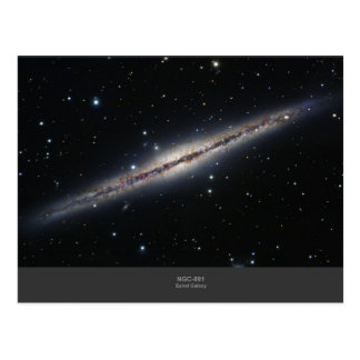NGC-891 spiral galaxy Postcard