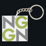 """NGGN Keychain<br><div class=""""desc"""">Simple and straight to the point,  this NGGN keychain will hold your keys and tell the world #IAmNextGen.</div>"""