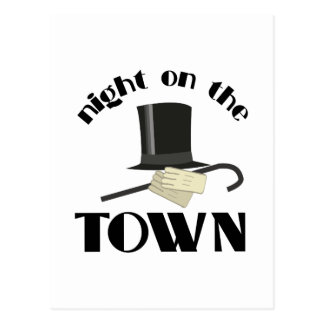 Nght Town Postcard