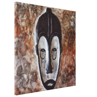 Ngil Fang Tribal African Masks Art Canvas Prints