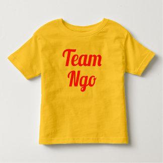 Ngo del equipo camisas