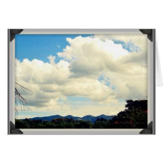 Ngong Hills, Kenya Card