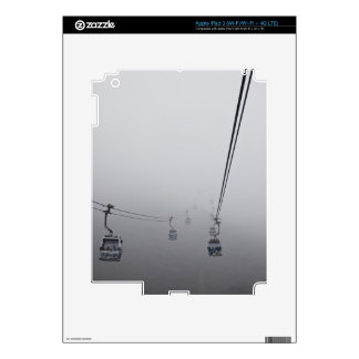 Ngong Ping Cable Car in thick fog iPad 3 Skin