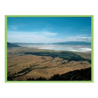 Ngorongoro Crater Postcard