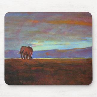 'Ngorongoro Sunset' Mouse Pad