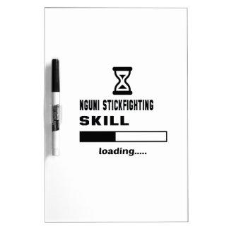 Nguni Stickfighting skill Loading...... Dry Erase Board