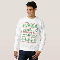Nguyen-ter Wonderland Knit-look Light Sweater