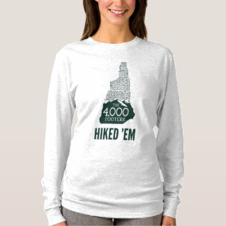 NH 4000 Footers Hiked Women's Long Sleeve T-Shirt