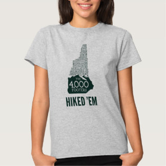 NH 4000 Footers Hiked Women's T-Shirt