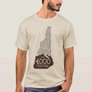 NH 4000 Footers Long Sleeve T-Shirt (Brown Logo)