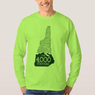 NH 4000 Footers Long Sleeve T-Shirt (Green Logo)