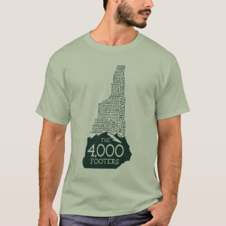 NH 4000 Footers T-Shirt (Green Logo)