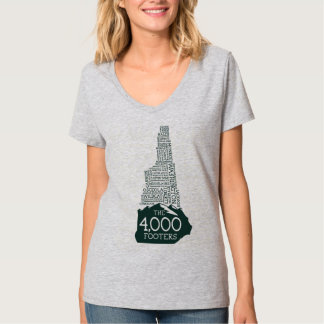 NH 4000 Footers Women's V-Neck T-Shirt