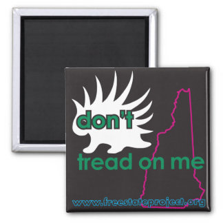 NH Don't Tread on Me Magnet