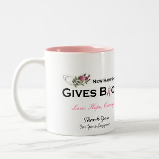 NH Gives Back Coffee Mug - Thanks Support
