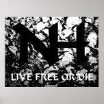 NH - Libres vivos o mueren Posters