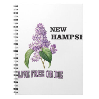 NH live free or die Notebook