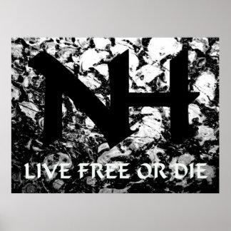 NH - Live Free or Die Print