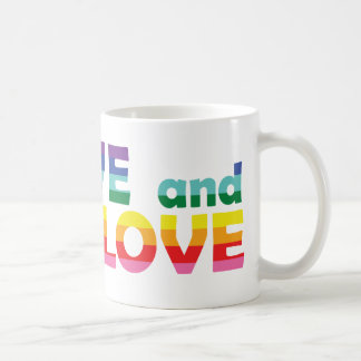 NH Live Let Love Coffee Mug