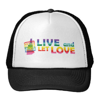 NH Live Let Love Trucker Hat