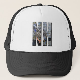 NH NEW HAMPSHIRE TRUCKER HAT