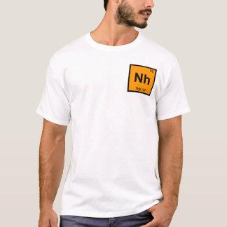 Nh - Símbolo de la química de Nob Hill San Playera