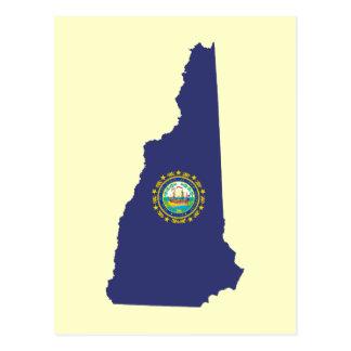NH State Flag Postcard