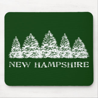 NH Winter Evergreens Mouse Pads