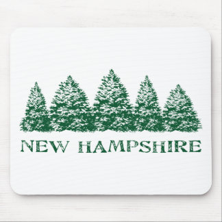 NH Winter Evergreens Mouse Pad