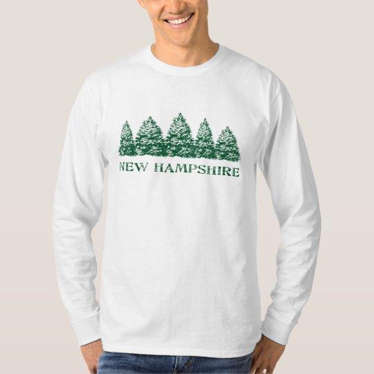 NH Winter Evergreens T-Shirt